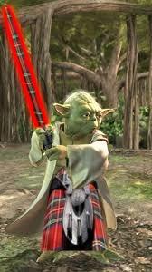 Abu Dhabi Yoda with the Force