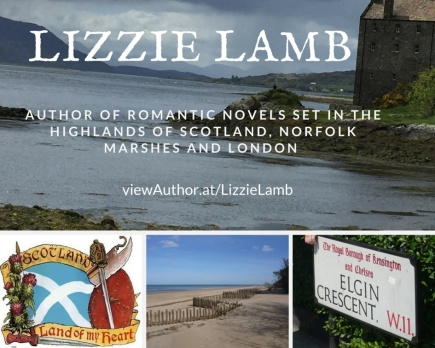 Romantic novels by LIzzie Lamb