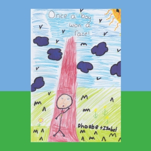 Cover-Once a boy won a race by Pheobe & Isabel.indd